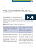 Feasibility Study Assessing the Influence of Macronutrient Intakes on Preterm Body Composition, Using Air Displacement Plethysmography