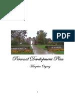 personal development plan mengdan ouyang