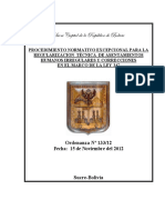 - OM 133_2012 - Reglamento de Regularización de Asentamientos Humanos Irregulares Ley 247