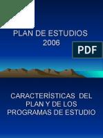 Plan de Estudios RES SEP