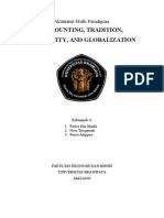 Accounting, Tradition, Modernization, And Globalization Akuntansi Multiparadigma