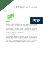 Herramientas BIM _ Cambio en El Concepto de Diseño