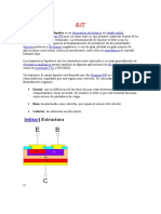 El Transistor de Unión Bipolar- BJT