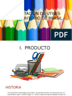 Importacion de Utiles de Escritorio de Brasil