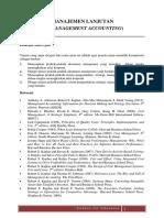 Materi Akuntansi Manajemen Lanjutan