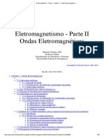 Eletromagnetismo - Parte 2 - Capítulo 7 - Ondas Eletromagnéticas