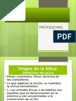 Etica Profesional Unidad 1-4