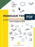 Panduan Tenant DIIB UI 2016 Revisi