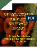 29 Nuevos Concept en El Trat y Prev Del Sangrado