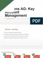 Siemens Key Account Management