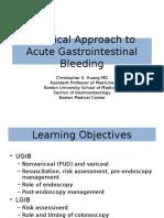 Practical Approach to GIB, Hemorragia gastrointestinal, hemorragia gastrica