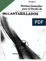 Normas Generales para el Diseño de Alcantarillados.pdf