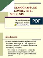 Demografia Colombia Siglo Xix