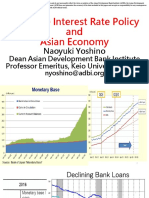 Negative Interest Rate Policy and Asian Economy