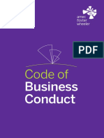 Amec Foster Wheeler Code of Business Conduct 2015