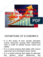 Basic Economics With Tlr