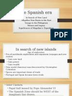 Chapter 4-The Spanish Era