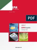 201703 Espa Catálogo Tarifa 2017 España