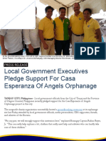 Local Government Officials Express Support For Casa Esperanza Of Angels Orphanage Project
