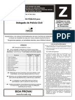 D01 Z - DELEGADO DE POLÍCIA CIVIL