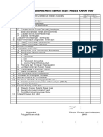 Check List Kelengkapan Rm Pasien