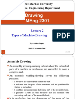 Types of Machine Drawing