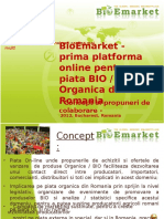 Prezentare Concept BioEmarket_2012