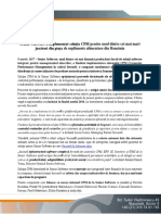 Senior Software a Implementat Soluția CPM Pentru Secom