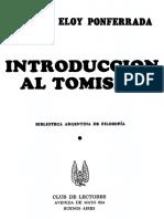 Introducción al tomismo