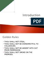 Introduction Slide