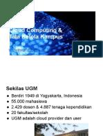 Cloud Dilingkungan UGM