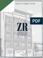 Zaragoza Residences Brochure
