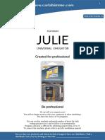 Universal Emulator Julie Manual