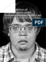 The Prohibition of Discrimination Under European Human Rights Law