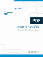 SmartPTT Monitoring Dispatcher User Guide