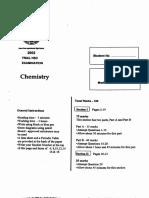 James Ruse 2002 Chemistry Trial