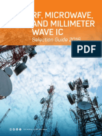 ANALOG RF Microwave and Millimeter Wave IC Selection Guide 2016