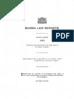 Burma Law Reports 1959 (High Court)