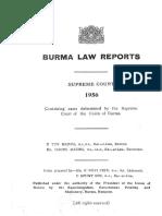 Burma Law Reports 1956