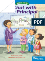 A Chat With the Principal