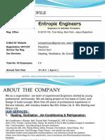 Entropie Profile - HVACR