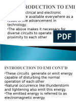 Introduction to Electromagnetic Interference