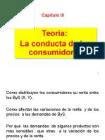 03_Teoría La Conducta de Los Consumidores