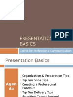 Presentation Basics Cluster Revised 21213