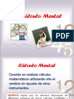 El Calculo Mental