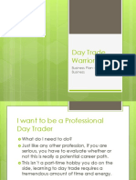 Day Trade Warrior Business Plan Trading as a Business