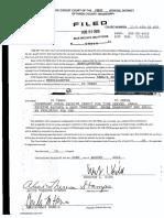 Kennedy Kahlil Sentencing Order