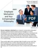 The Link Between Employee Motivation and Your Compensation Philosophy