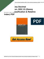!B.e.s.t 1910608815 Dewey Decimal Classification DDC 23 Dewey Decimal Classification  Relative Index .pdf