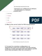 CCNA 2 Pretest Exam Answer 005